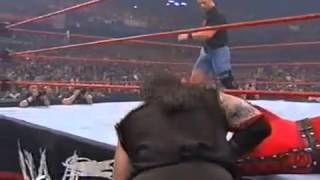 WWF - Undertaker Vs Kane With Stone Cold As Guest Referee - WWF Championship - Judgement Day - 1998