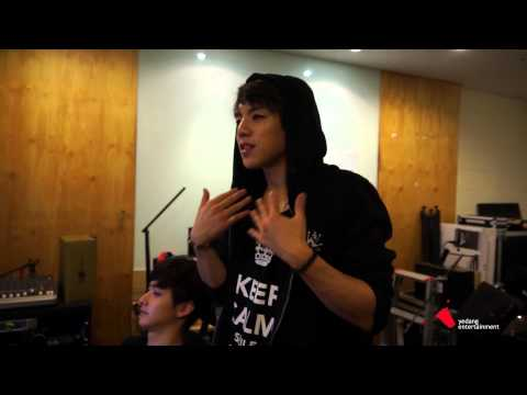 C-Clown's Rome making his SBS PopAsia radio show