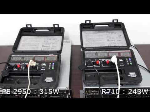 Dell PowerEdge PE 2950 vs PE R710