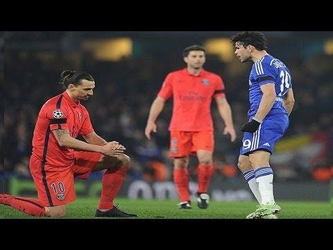 Diego Costa Vs Zlatan Ibrahimovic  // Wild Moments 2016 / 2017