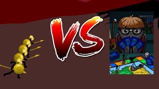4 Golden Speartons vs Wesley | Insane MODE Tournament | Stick War Legacy
