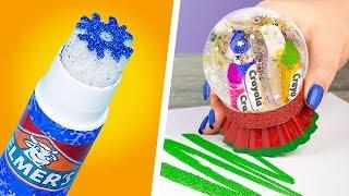 10 Fun DIY Christmas School Supplies