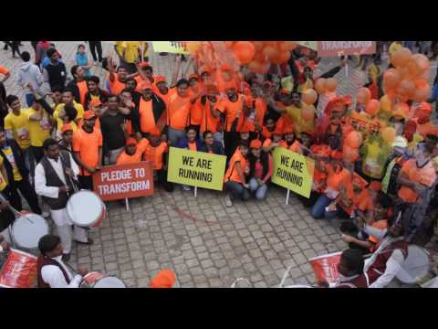 Jaipur ran with Au Financiers at Au Jaipur Marathon