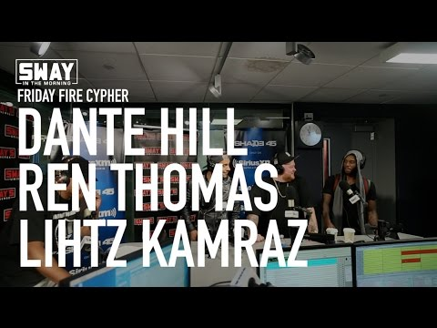 Friday Fire Cypher: Dante Hill, Ren Thomas, Lihtz Kamraz Freestyle Over Beats by Rod the Producer