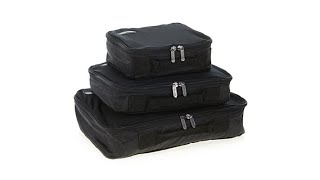 Genius Pack Compression Packing Cubes 3pack