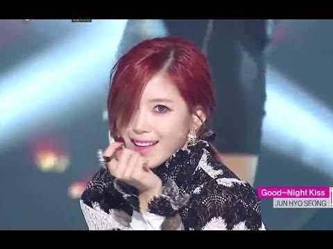 HOT Jun Hyo-seong - Good-Night Kiss, 전효성 - 굿나잇 키스, Show  core 20140531