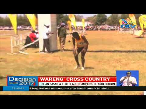 Lilian Kasait & Emmanuel Bett emerge champions of 13th Wareng' Cross Country