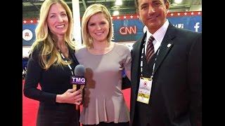 kate Bolduan CNN Anchor at GOP Presidential Debate