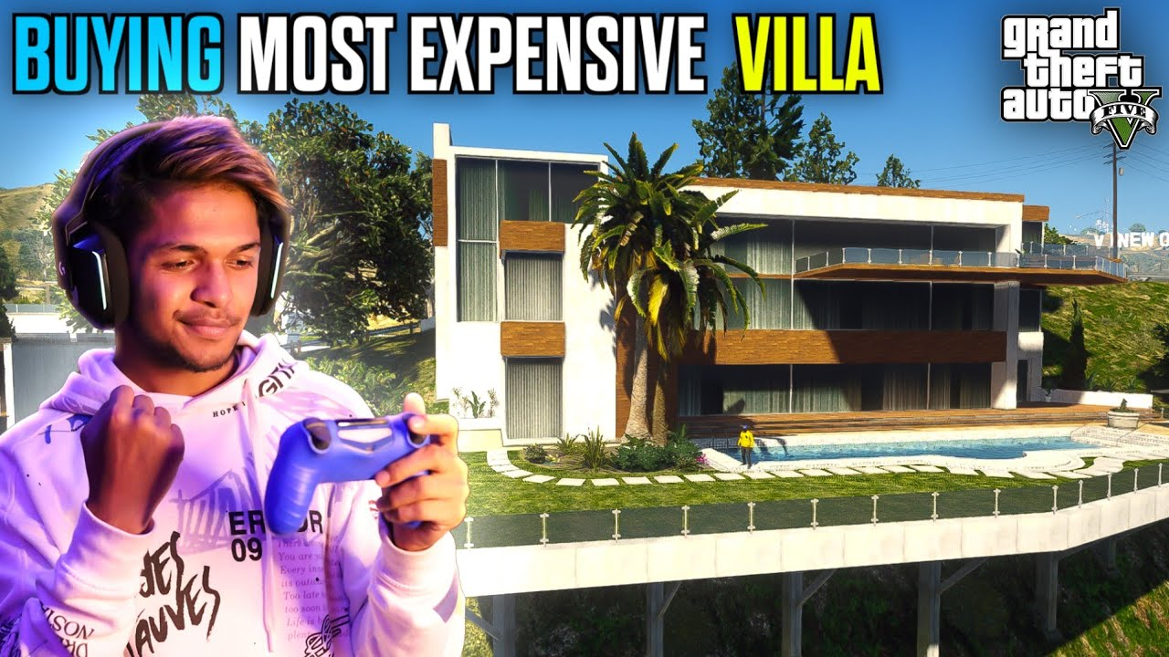 Buying Most Expensive House In GTA V GAMEPLAY #1