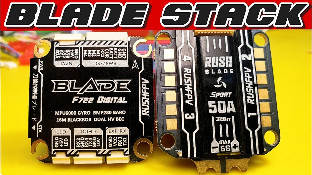 ✅ Лучший Стек для FPV Дрона RUSH FPV Blade F722! + Новинки STP Hobby 2021 🔥
