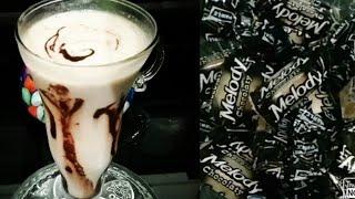 How to make MELODY milkshake milkshake with melody toffee