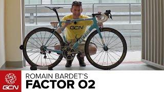 Romain Bardet's Factor O2 Pro Bike