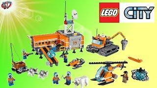 Lego City 60036 Arctic Base Camp Toy Review & Unboxing