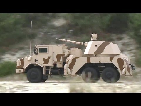 Thales - RAPIDFire 40mm Multi-Role Ground-Based Gun System [720p]