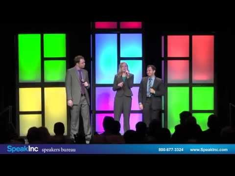 Keynote Speaker: The Water Coolers • Presented by SpeakInc