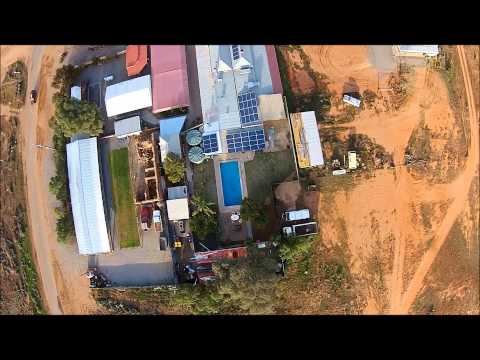 Silverton NSW Australia filmed by Sky Eye UAV Solutions