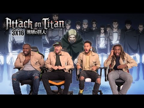 ERWIN THE GOAT SMITH! Attack on Titan 3x16 REACTION/REVIEW
