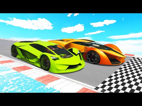 Which CAR Is The FASTEST IN GTA 5?! (GTA 5 Funny Moments) thumbnail