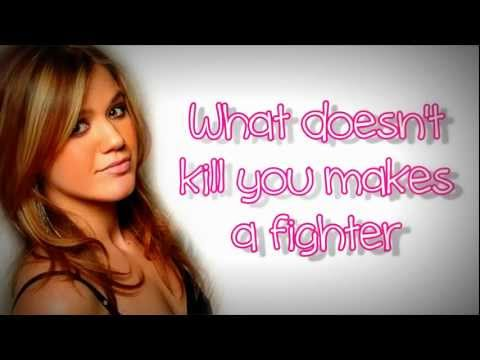 Kelly Clarkson - Stronger Lyrics