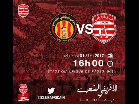 J2 PLAYOFF : E.S. Tunis - CLUB AFRICAIN