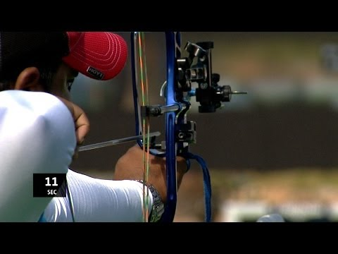 Compound Men Individual Gold  - Stage 3 : ANTALYA - Archery World Cup 2014