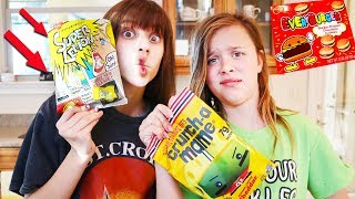 WE TRIED GUMMY FOODS FROM ALL AROUND THE WORLD!!
