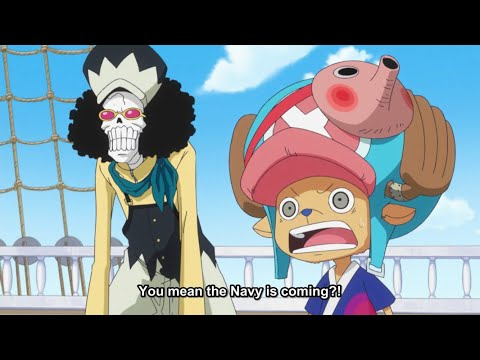 One Piece - Episode 575 - Anime Reaction - YouTube