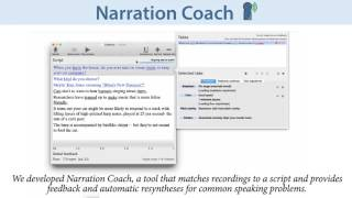 Capture Time Feedback for Recording Scripted Narration