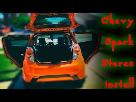 Chevy Spark Stereo Install Youtube