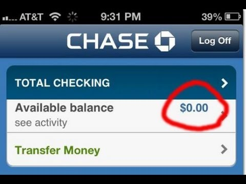 Millions Of Chase Bank Customers See 0 Balance Due To Computer