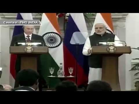 Media Statement during the Official Visit of the President of Russian Federation to India