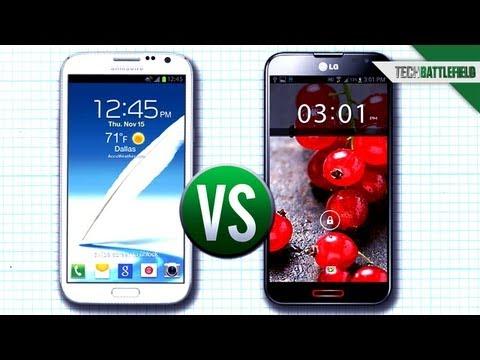 Samsung Galaxy Note II vs LG Optimus G Pro - Soldier s Tech Battlefield 19c70f4e6