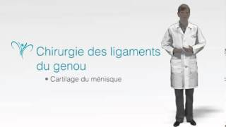 Chirurgie du genou (LCA and LCM) partie 1