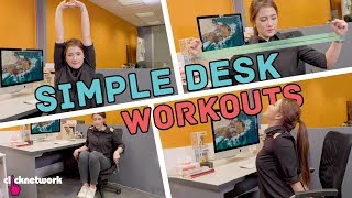 Simple Desk Workouts - No Sweat: EP21