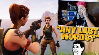 10 Minutes 54 Seconds of Streamers TROLLING The LAST PLAYER!! - NOOB FORTNITE KIDS