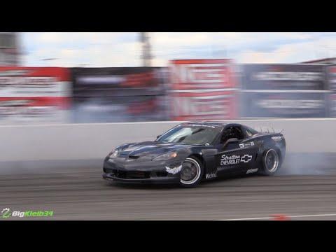 BECAUSE DRIFT VETTE - LSx Drifting Showdown - YouTube