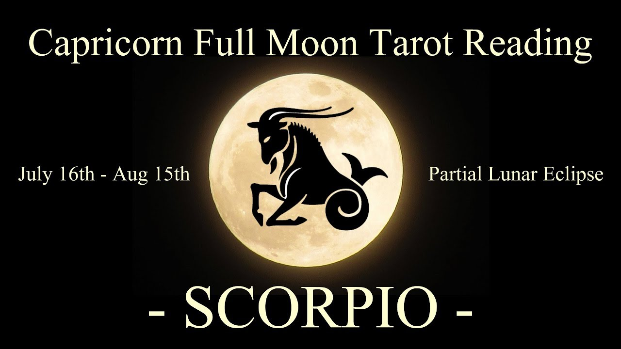Scorpio - Huge life cycle completing! - Full Moon/Lunar Eclipse Reading