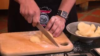 Pear and Blue Cheese Focaccia