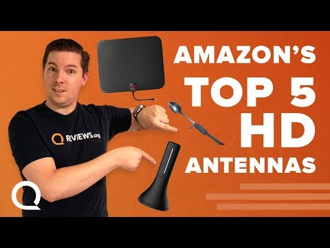 Top 5 HD Antennas Vs Metal Spoon | U Must Have, Model V8, Amplified & Vansky | Which Works Best?