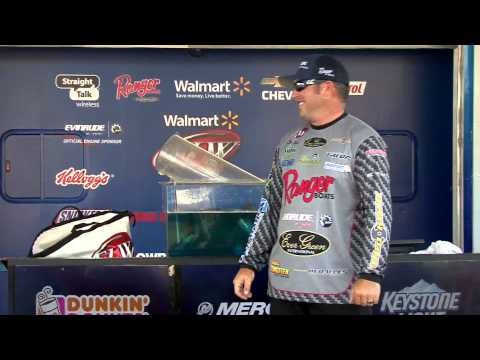 2014 Walmart FLW Tour Lake Okeechobee - Brett Hite Winning Moment