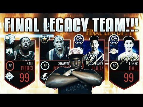 MASSIVE 70 MILLION COIN NBA LIVE MOBILE LEGACY TEAM SHOPPING SPREE!!!