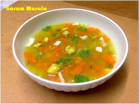 How to make vegetable soup at home in malayalam