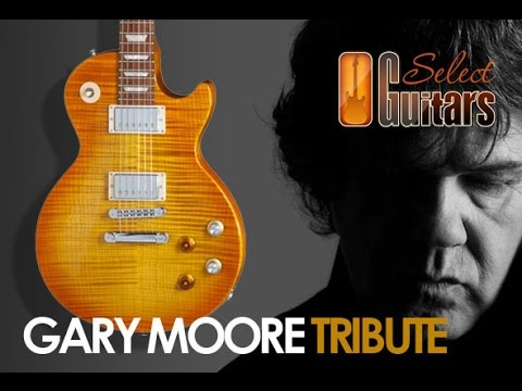 Selectguitars 2013 gibson les paul gary moore tribute with lovepedal kalamazoo gold youtube - Gibson gary moore ...