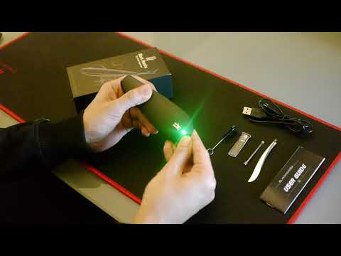 Unboxing the Black Mamba Dry Herb Vaporizer