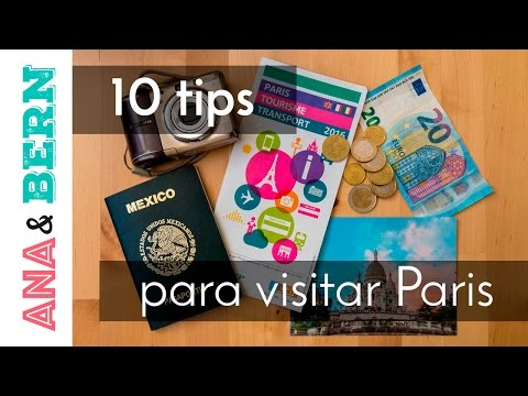 10 tips para visitar Paris, Francia / Ana y Bern
