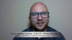 Local Market Update - 3/8/19 - Winter Springs, FL
