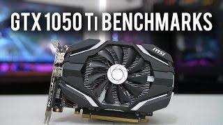 GTX 1050 Ti Benchmarkkksss!!!!