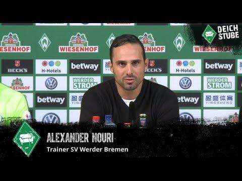 Werder-Pressekonferenz vor dem Spiel gegen den VfL Wolfsburg