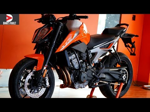 KTM Duke 790 India Review Walkaround Exhaust Note Most Detailed #DinosVlogs