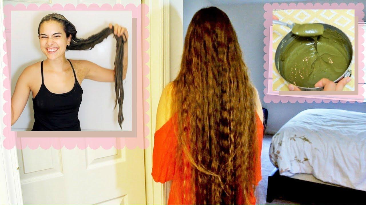 clear henna hair treatment